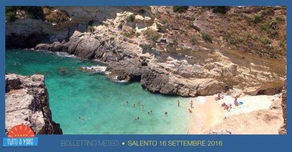 Bollettino 16 Settembre 2016