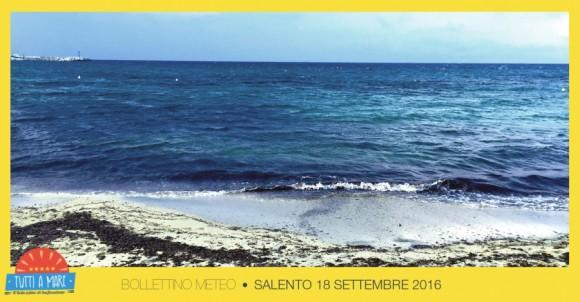 Bollettino 18 Settembre 2016