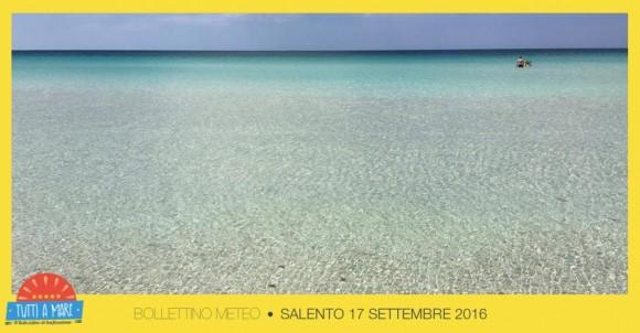 Bollettino 17 Settembre 2016