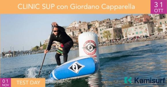 Clinic SUP | Giordano Capparella da Kamisurf | 31 ott 2017