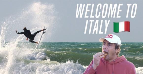 WELCOME TO ITALY WITH LEONARDO FIORAVANTI   VIDEO