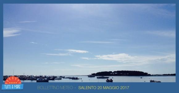Bollettino 20 maggio 2017