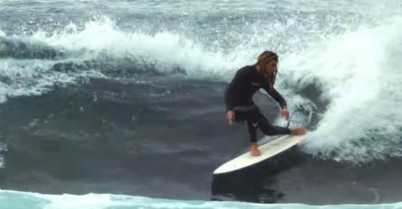 Oscar Langburne Surfs FCS II x Christenson Keel