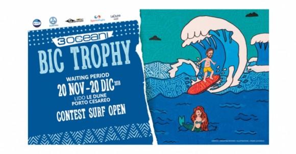 3OCEANI BIC TROPHY 2018 | LA PRIMA GARA DI SURF DA ONDA IN PUGLIA | LIDO LE DUNE PORTO CESAREO |