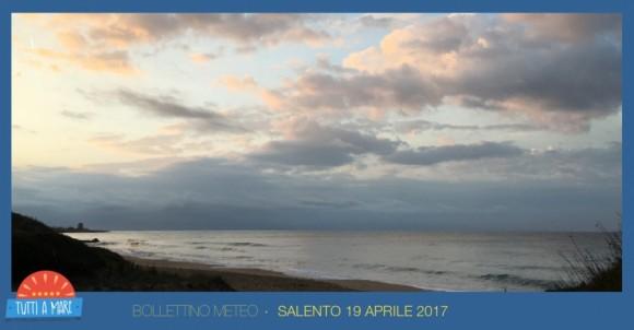 Bollettino 19 aprile 2017
