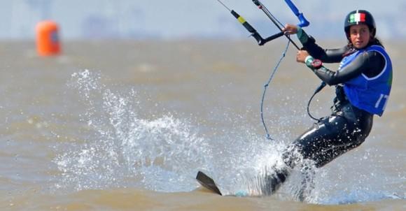 Sofia Tomasoni è oro nel kiteboard a Buenos Aires 2018