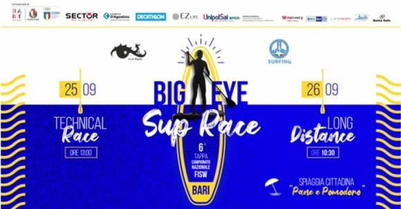 BIGEYE SUP RACE 2021 | BARI | 25/26 SETTEMBRE 2021