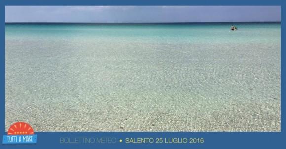 Bollettino 25 Luglio 2016