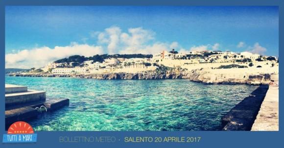 Bollettino 20 aprile 2017