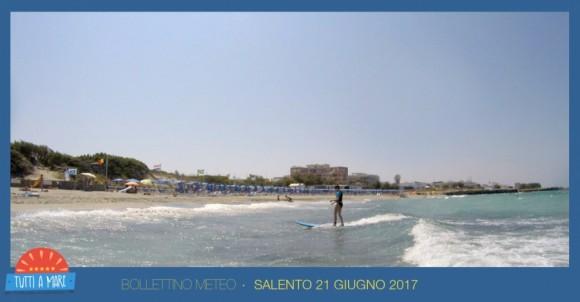 Bollettino 21 giugno 2017