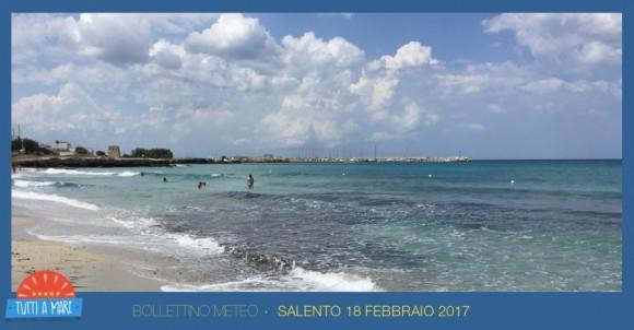 Bollettino 18 febbraio 2017
