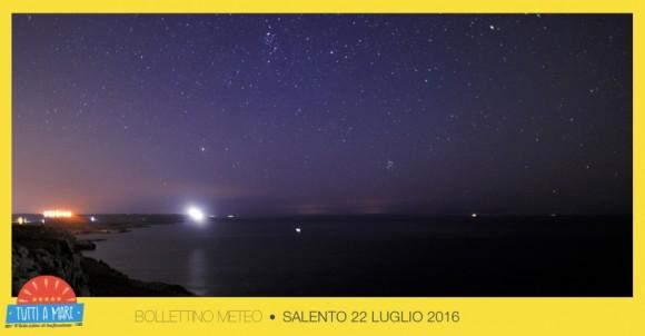 Bollettino 22 Luglio 2016