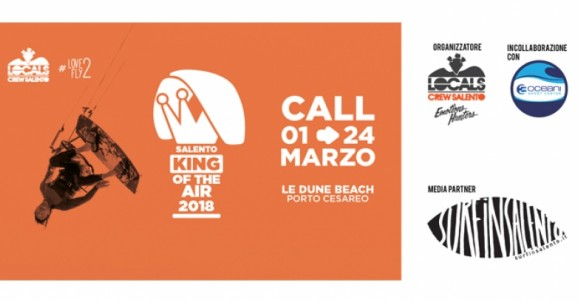 LOCALS CREW SALENTO KING OF THE AIR 2018 | PORTO CESAREO LE DUNE