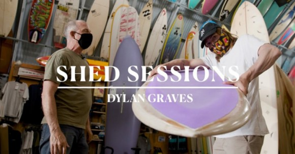 """Dylan Graves Go Switch on a 6'4"""" Flex-Deck in the New """"Shed Sessions"""" 