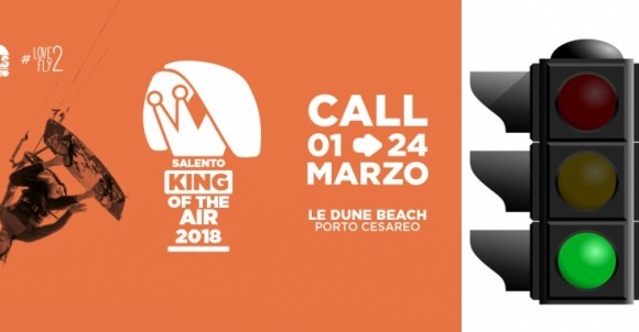 SEMAFORO VERDE PER SALENTO KING OF THE AIR 2018 | GARA KITESURF PORTO CESAREO LIDO LE DUNE