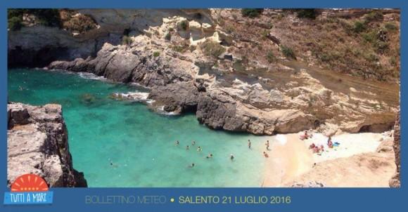 Bollettino 21 Luglio 2016