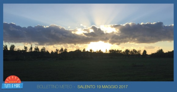 Bollettino 19 maggio 2017