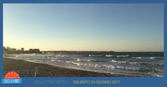 Bollettino 30 giugno 2017