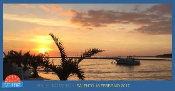 Bollettino 16 febbraio 2017