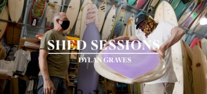 "Dylan Graves Go Switch on a 6'4"" Flex-Deck in the New ""Shed Sessions"" 